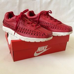 NIKE Mayfly Leather Independence Day Pack Red Sz 9